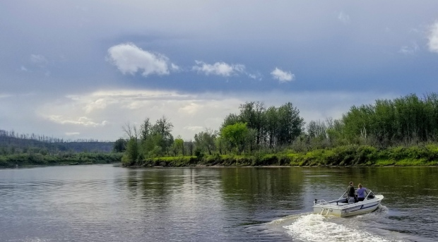 fishing on the clearwater river